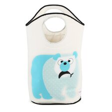 Bagley Polar Bear Laundry Hamper