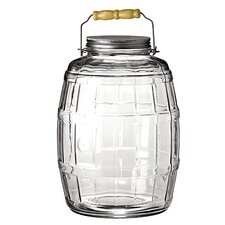 Barrel 10 qt. Storage Jar