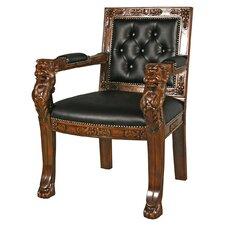 Beardsley Lion Armchair by Design Toscano