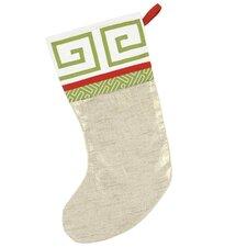 Seasonally Chic Jimmy Shoe Christmas Stocking