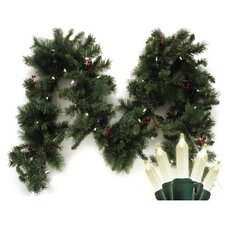 Traditional Mini Anchorage Fir Branch Garland