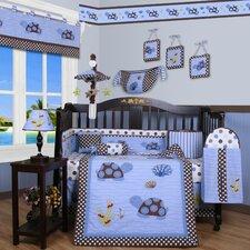 Krystina Polka Dot 13 Piece Crib Bedding Set
