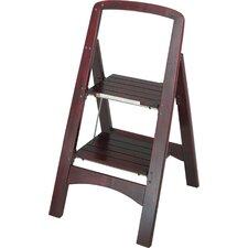 Rockford 2-Step Wood Step Stool with 225 lb. Load Capacity