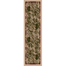New Look Collection Signature Jungle Fever Pearl Mist Area Rug