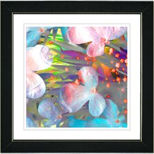 """Pastel Party Flower"" by Zhee Singer Framed Graphic Art"