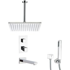Tyga Thermostatic Tub and Shower Faucet by Remer by Nameek's