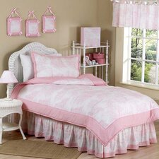 French Toile Kid Bedding Comforter Collection