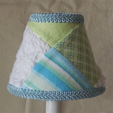 "Grandma's Quilt 11"" Fabric Empire Lamp Shade"