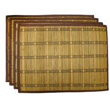Corby Bamboo Placemat (Set of 4)