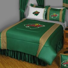 NHL Minnesota Wild Sidelines Comforter