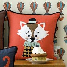 Aristo Katt Cotton Throw Pillow