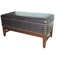 Fabric Storage Bedroom Bench by ORE Furniture