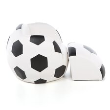 Soccer Ball Kids Novelty Chair and Ottoman