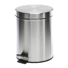 Stainless Steel 1.32 Gallon Step On Trash Can