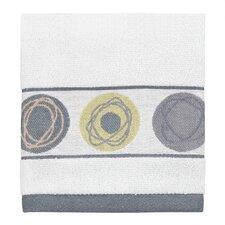 Dot Swirl Jacquard Wash Cloth