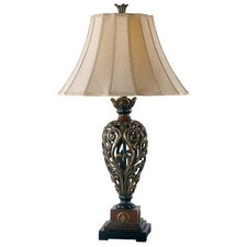 """Iron Lace 32.75"""" Table Lamp"""