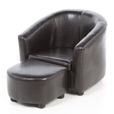 Youth Club Chair and Ottoman