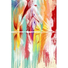 Lustrating Rays Giclee Graphic Art on Canvas by Maxwell Dickson