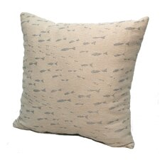 Coastal Minnow Throw Pillow