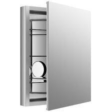 "Verdera 24"" W x 30"" H Medicine Cabinet with Adjustable Magnifying Mirror"