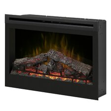 "Electraflame 33"" Self Trimming Wall Mount Electric Fireplace"