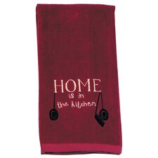 Home Embroidered Terry Kitchen Towel (Set of 6)