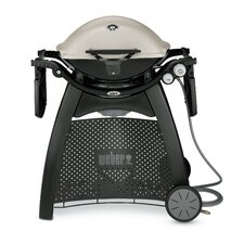Q® Series 3200 Titanium 2-Burner Propane Gas Grill with Side Shelves