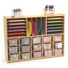 Value Line 31 Compartment Cubby with Trays