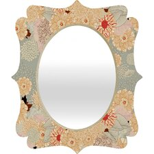 Creme De La Creme Quatrefoil Wall Mirror
