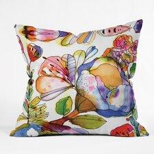 CayenaBlanca Blossom Pastel Throw Pillow