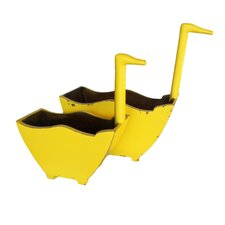 Swan Handle Bucket (Set of 2)