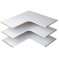 Corner Shelf (Set of 3) by Easy Track