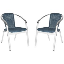 Wrangell Stacking Arm Chair (Set of 2)