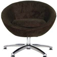 Overman Five Prong Base Astro Barrel Chair by Fox Hill Trading