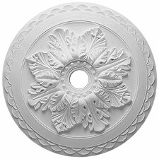 """Bordeaux Deluxe 23.63""""H x 23.63""""W x 2""""D Ceiling Medallion"""