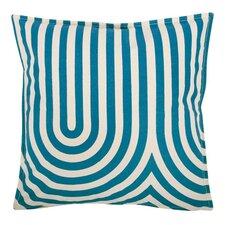 """Geometric 18"""" Cotton Throw Pillow"""