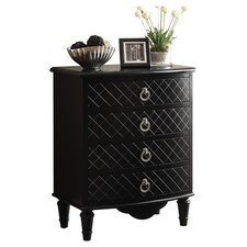 Bombay 4 Drawer Chest by Monarch Specialties Inc.