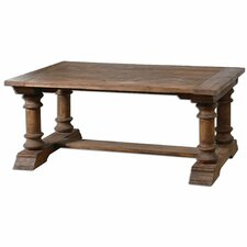 Saturia Wooden Coffee Table by Uttermost