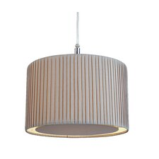 30.5cm Fabric Drum Pendant Shade
