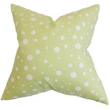 Bebe Polka Dots Cotton Throw Pillow