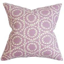 Yowanda Geometric Cotton Throw Pillow