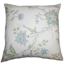 Ululani Floral Cotton Throw Pillow