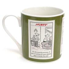 Matt 8.5cm Bone China Couple Mug