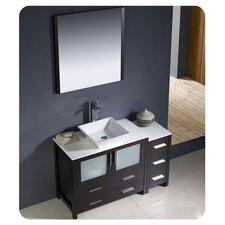 Torino 48 Single Modern Bathroom Vanity Set with Mirror by Fresca