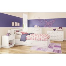 Litchi Twin Platform Customizable Bedroom Set