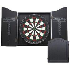 Dart Board Cabinet in Black