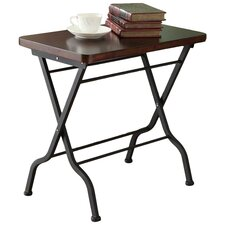 Folding End Table by Monarch Specialties Inc.