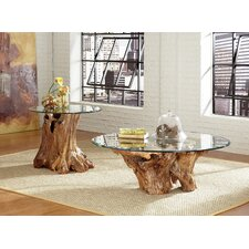 Hidden Treasures Root Ball Coffee Table Set by Hammary
