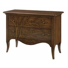 Hidden Treasures 2 Drawer Bachelors Chest by Hammary