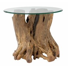 Hidden Treasures Root Ball End Table by Hammary